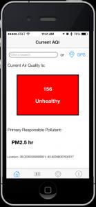 MyAQI mobile app
